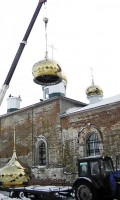 Восстановление Троицкого храма!