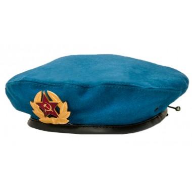 Берет ВДВ (голубого цвета)